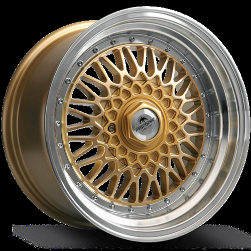 Forzza Malm Gold-Lip Machined 15""