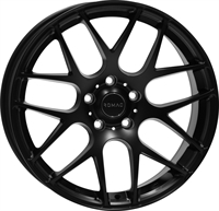 Romac Radium Dull Black 18""